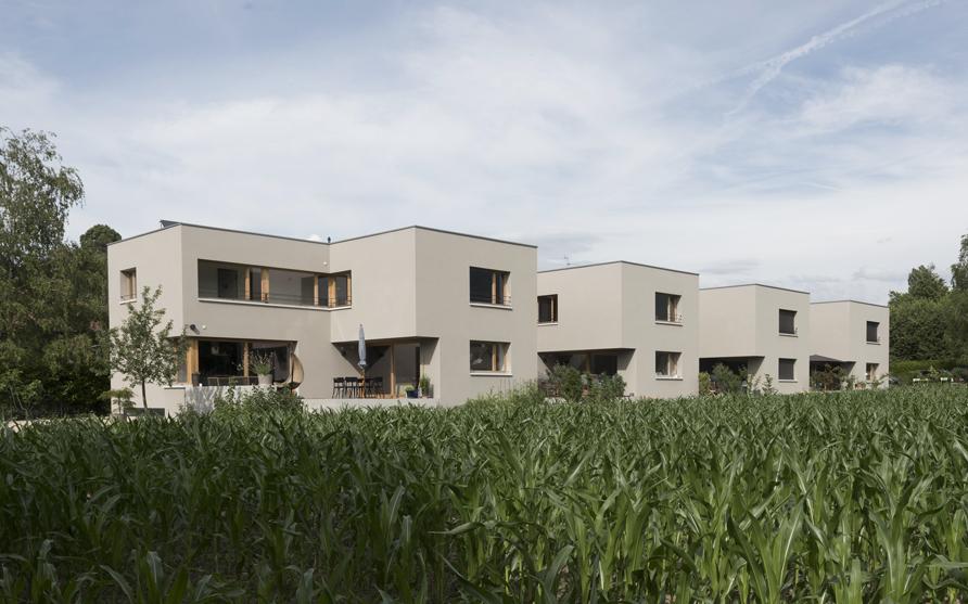 habitat groupé à troinex