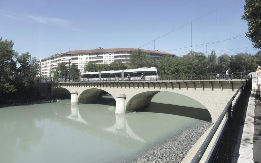 rénovation du pont de carouge
